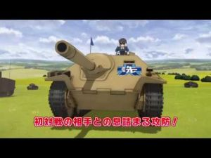 Girls und panzer Final Chapter, la Bande annonce de l'OAV