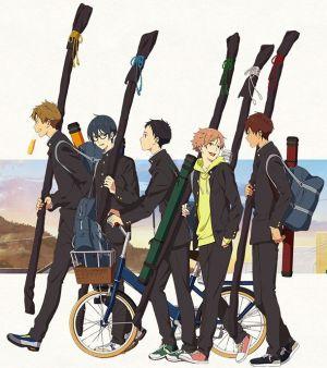 Tsurune: Kazemai Koukou Kyudo-bu, le Roman adapté en Anime